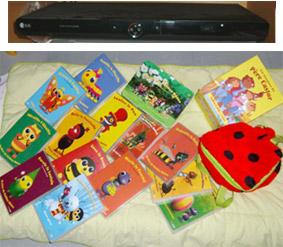 lecteur DVD + DVD des petites bêtes