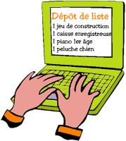 Image pour le dépôt de la liste