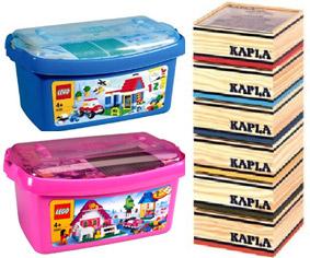 cadeau de l'école élémentaire : légo kapla