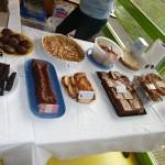 Les gâteaux de la buvette