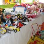 Poupées, landeaux, petites voitures