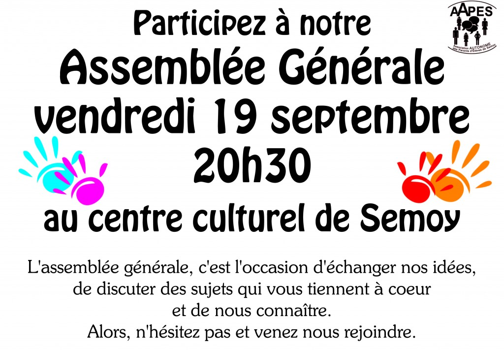 Affiche Assemblée Générale